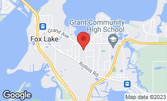 Map of 23 South Maple Avenue FOX LAKE, IL 60020