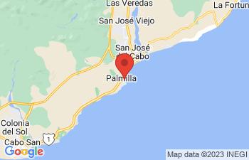 Map of Los Cabos