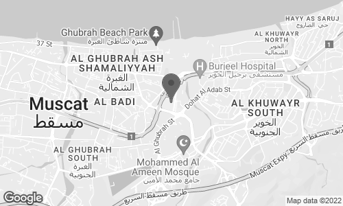 Map of Sultan Qaboos St in Baushar