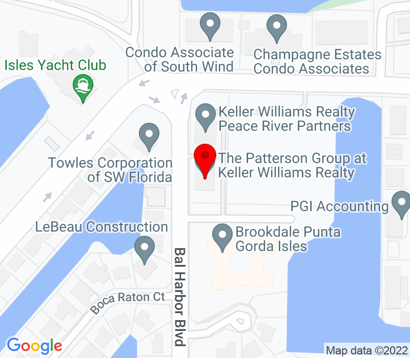 Click to view Google maps office address 230 Bal Harbor Blvd, Suite 113, Punta Gorda, FL 33950