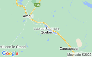 Map of Camping Du Lac