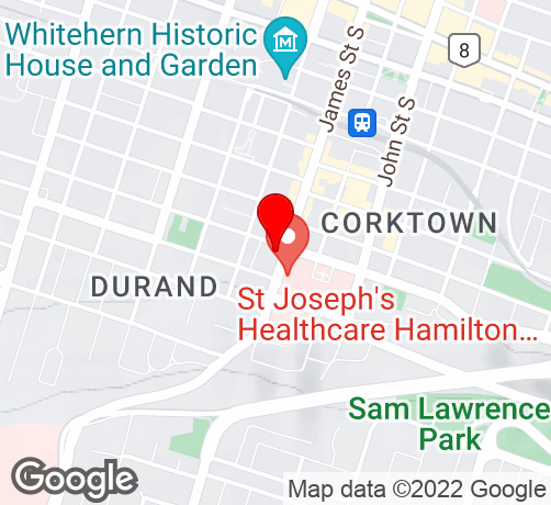 Google Map of 230 James St S Hamilton, ON L8P 3B3 Canada