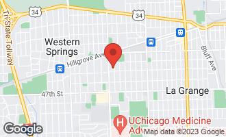Map of 230 South Peck Avenue LA GRANGE, IL 60525