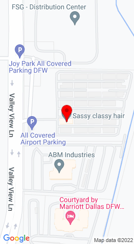Google Map of Hoss Machinery International 2300 Valley View Lane, Irving, TX, 75062