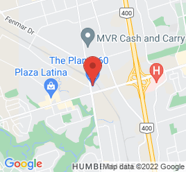 Google Map of 2300+Finch+Avenue+West+Unit+12%2CToronto%2COntario+M9M+2Y3