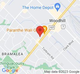 Google Map of 2300+Queen+Street+E%2CBrampton%2COntario+L6S+5X9