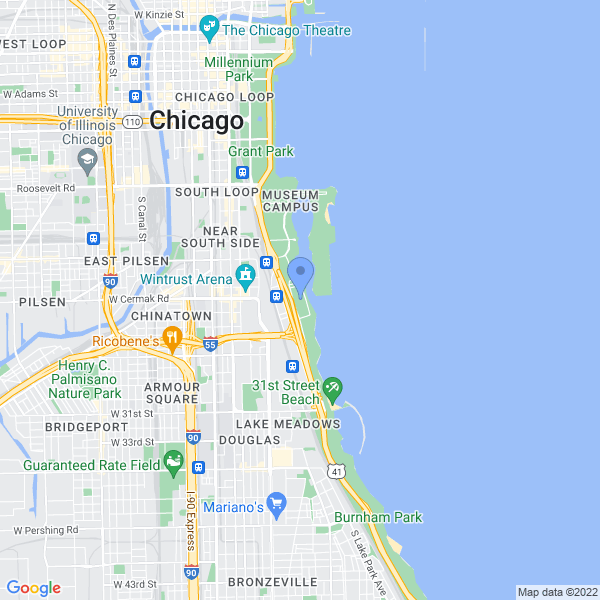 C2E2 – Chicago Comic & Entertainment Expo Map