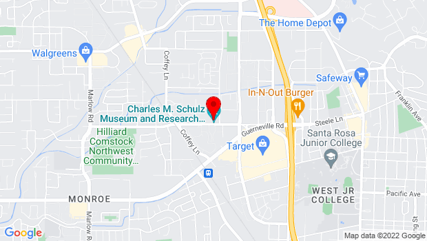 Google Map of 2301 Hardies Ln, Santa Rosa, CA 95403