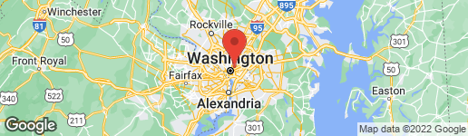 Map of 2304 1ST NW NW #2 WASHINGTON, DC 20001