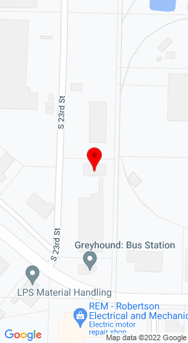 Google Map of Rentco, Inc. 2305 Industrial Park Road, Vanburen, AR, 72956