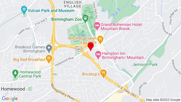 Google Map of 2305 Montevallo Road, Birmingham, AL 35233