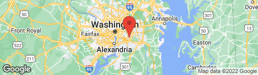 Map of 2306 SENATOR AVENUE DISTRICT HEIGHTS, MD 20747
