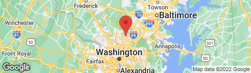 Map of 2309 SEIBEL DRIVE SILVER SPRING, MD 20905