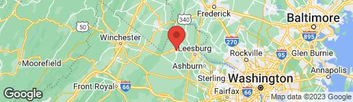 Map of 231 MAIN STREET E PURCELLVILLE, VA 20132