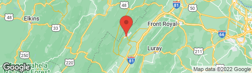 Map of 231 VALLEY VIEW ROAD BASYE, VA 22810