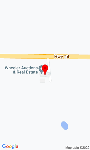 Google Map of Wheeler Auctions & Real Estate 23101 Hwy 24, Paris, MO, 62575