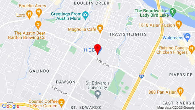 Google Map of 2311 S Congress Ave, Austin, TX 78704