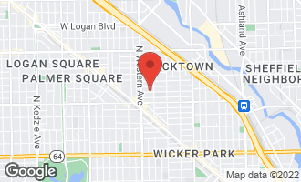 Map of 2314 West Dickens Avenue CHICAGO, IL 60647