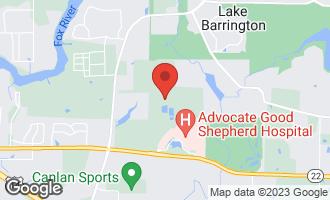 Map of 23150 Enclave Lane LAKE BARRINGTON, IL 60010