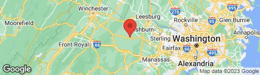 Map of 23168 DOVER ROAD MIDDLEBURG, VA 20117