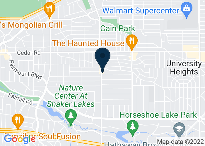 Map of 2317 Lee Road, Cleveland Heights, OH 44118, United States