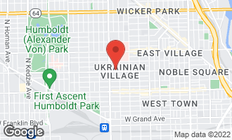 Map of 2318 West Augusta Boulevard 1A CHICAGO, IL 60622