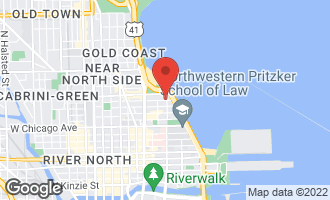 Map of 232 East Walton Place 10E CHICAGO, IL 60611