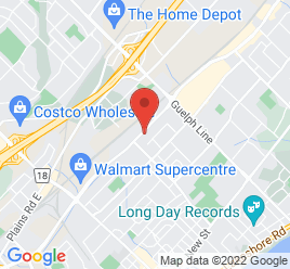 Google Map of 2320+Fairview+Street%2CBurlington%2COntario+L7R+2E4