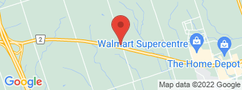 Google Map of 2320+Holt+Rd%2CBowmanville%2COntario+L1C+3K7