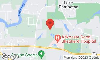 Map of 23201 Coyote Trail LAKE BARRINGTON, IL 60010