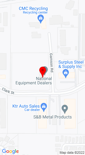 Google Map of Earthmovers Construction Equipment 2325 Clark Street, Apopka, FL, 32703