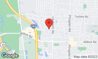 Map of 2330 Ridge Drive NORTHBROOK, IL 60062