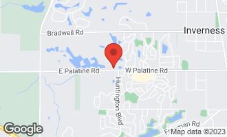Map of 2336 Harrow Gate Drive INVERNESS, IL 60010