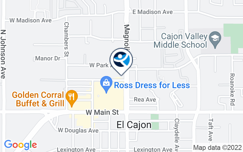 El Cajon Treatment Clinic Location and Directions