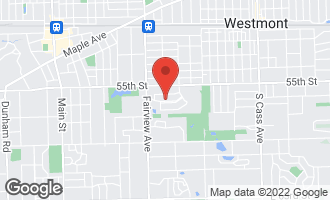 Map of 234 56th Street DOWNERS GROVE, IL 60516