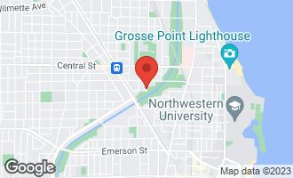 Map of 2342 Jackson Avenue EVANSTON, IL 60201