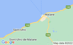 Map of Camping Parc Sirois La Baleine