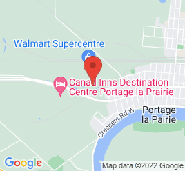 Google Map of 2345+Sissons+Drive%2CPortage+La+Prairie%2CManitoba+R1N+3P1