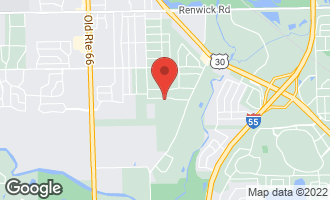 Map of 23453 West Link Lane Plainfield, IL 60586