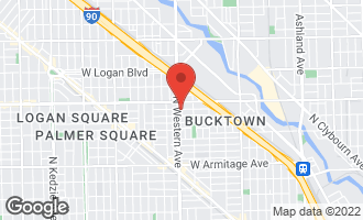 Map of 2347 West Medill Avenue CHICAGO, IL 60647