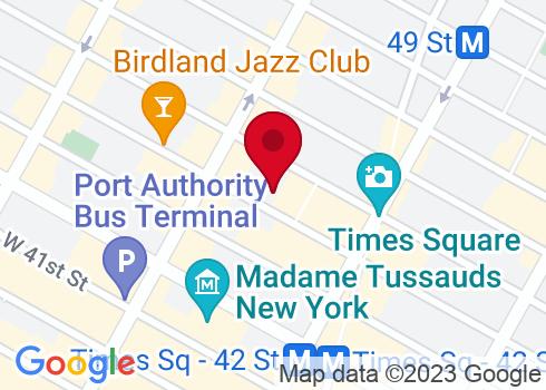 Broadhurst Theatre Google Maps Location