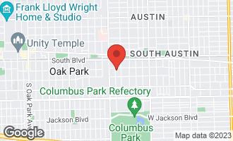 Map of 235 North Mason Avenue CHICAGO, IL 60644
