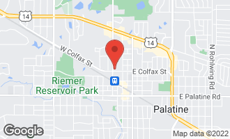 Map of 235 North Smith Street #509 PALATINE, IL 60067