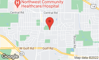 Map of 2350 West Lincoln Street ARLINGTON HEIGHTS, IL 60005