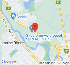 Google Map of 2352+BOUL+CURE-LABELLE%2CSaint-Jerome%2CQuebec+J7Y+5E9