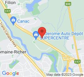 Google Map of 2357+BOUL+DU+CURE-LABELLE%2CSaint-Jerome%2CQuebec+J7Y+5E9