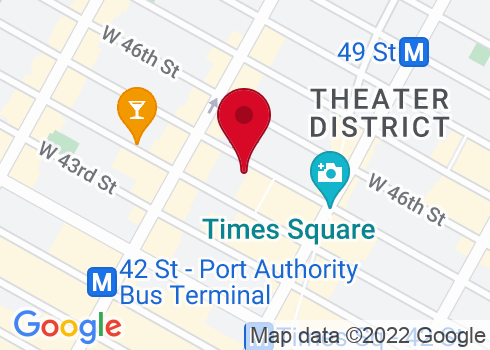 Schoenfeld Theatre Google Maps Location