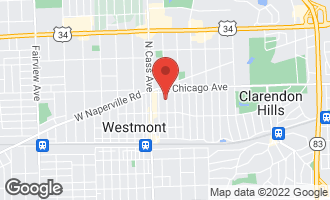 Map of 236 North Warwick Avenue Westmont, IL 60559