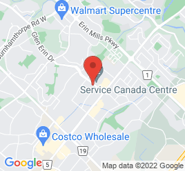 Google Map of 2360+Motorway+Blvd%2CMississauga%2COntario+L5L+1X3