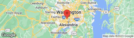Map of 2369 QUEEN STREET S ARLINGTON, VA 22202
